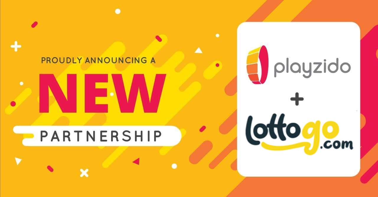 Playzido and LottoGo announce distribution partnership