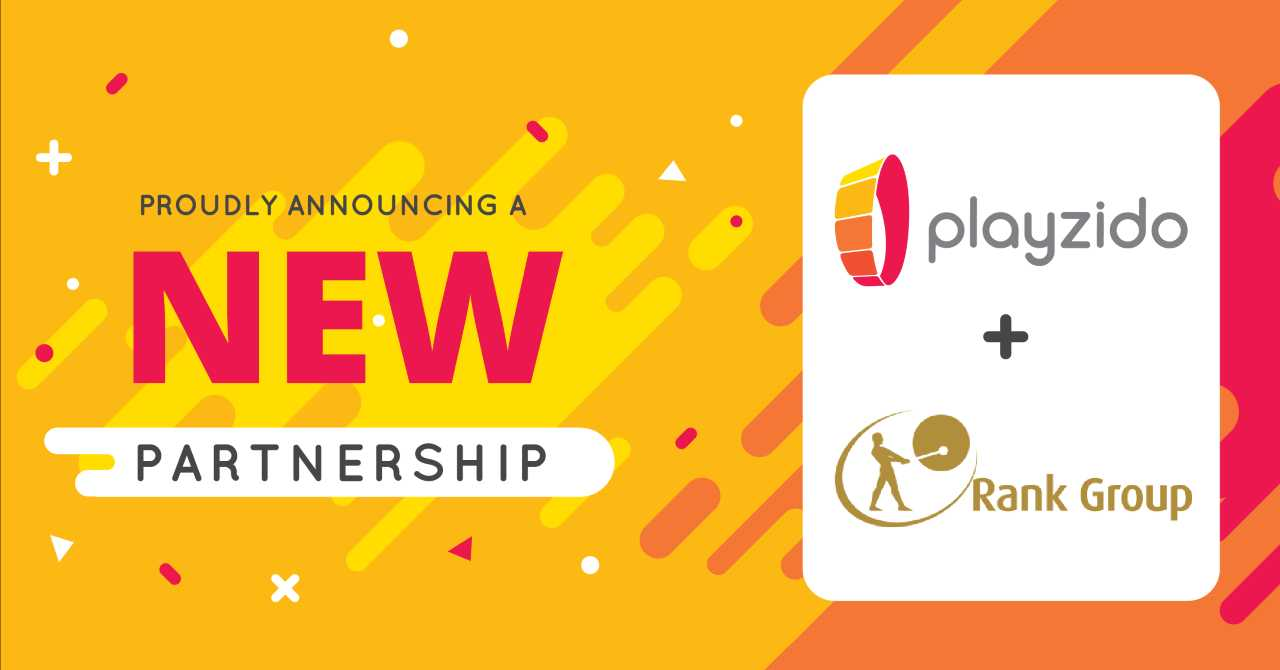 Playzido and Rank enhance partnership with exclusive games deal