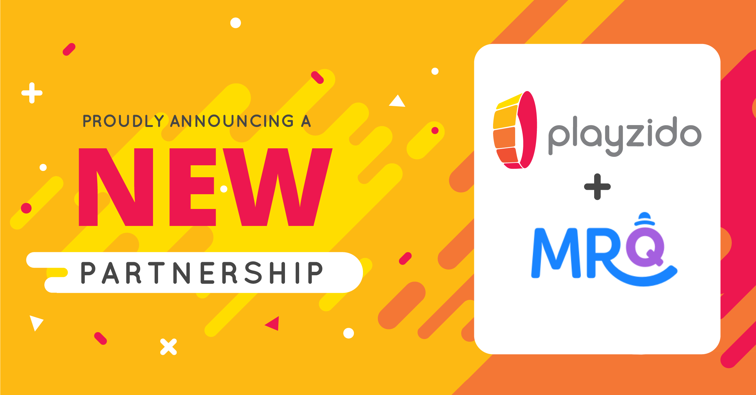 Industry rising stars Playzido and MrQ announce partnership