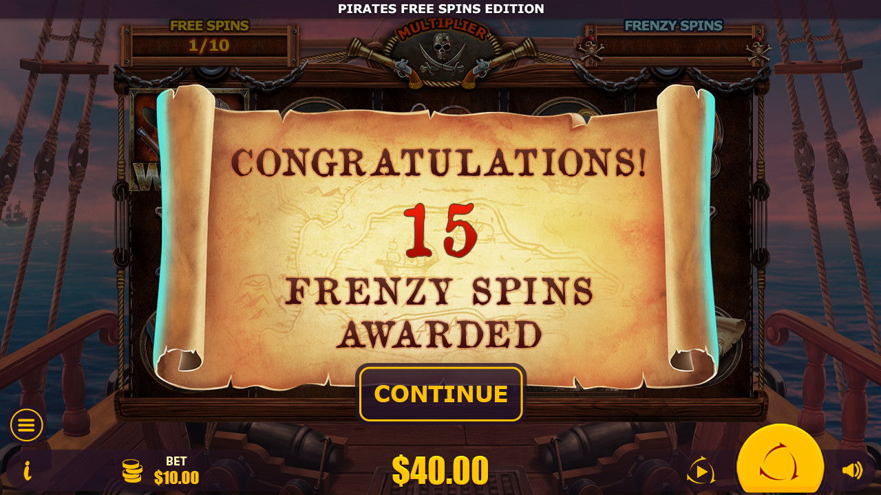 Pirates: Free Spins Edition